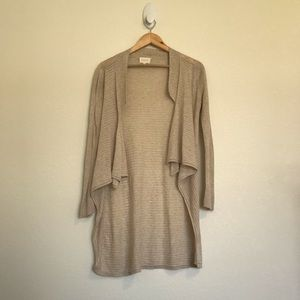 Anthropologie Sweaters - Anthropologie - Shae Beige Cardigan